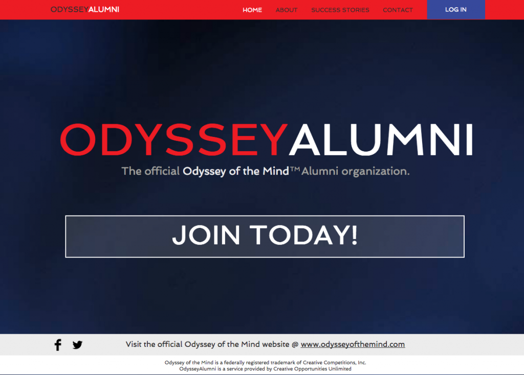 Odyssey of the Mind for alumni